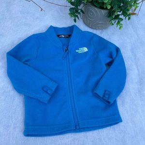 The North face🔴Blue sweater 12-18 months